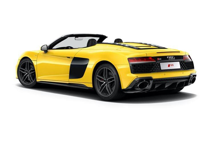 Audi r8 Spyder 5.2 fsi v10 Quattro Perform Carbon bk 2dr s Tronic - 4