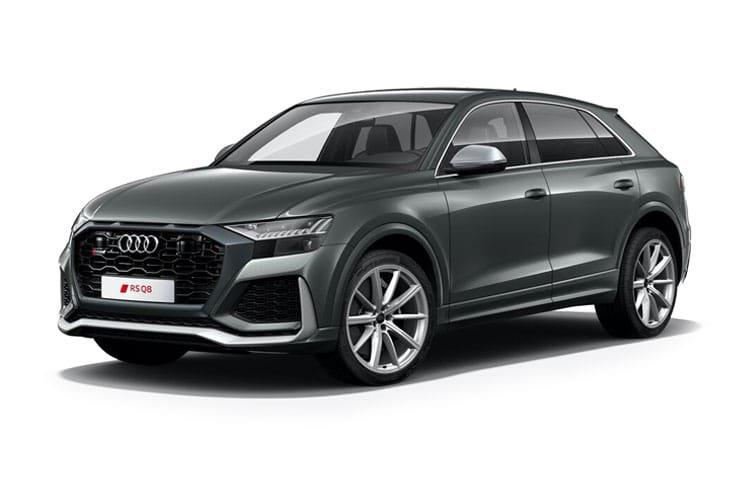 Audi rs q8 Estate rs q8 Tfsi Quattro Carbon Black 5dr Tiptron [c+s] - 1