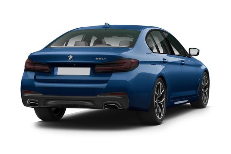 BMW 5 Series Saloon 520i mht m Sport 4dr Step Auto - 9