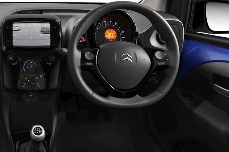 Citroen c1 Hatchback 1.0 vti 72 Sense 5dr - 7