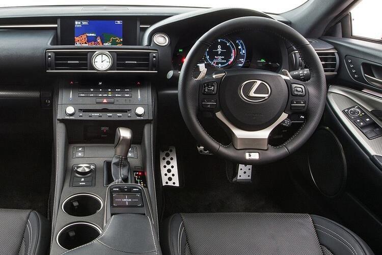 Lexus rc f Coupe 5.0 2dr Auto [track Pack] - 32