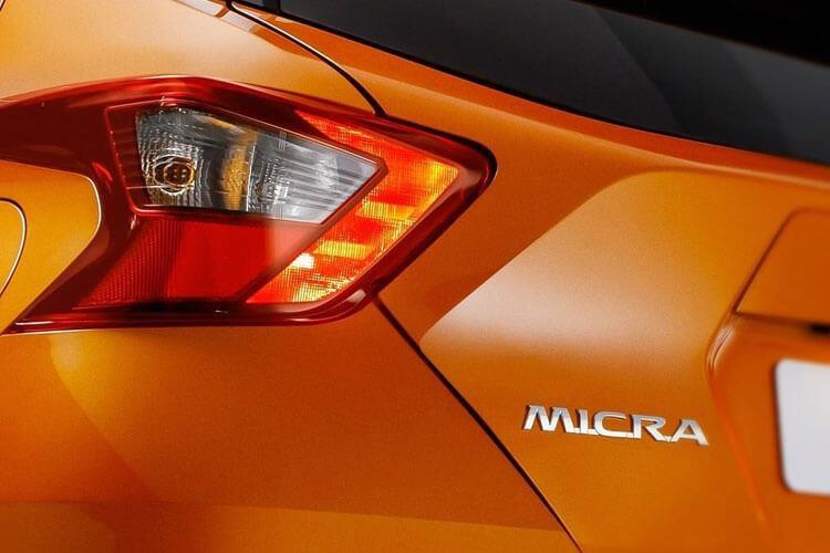Nissan Micra Hatchback 1.0 ig t 92 n Sport 5dr cvt [nav] - 27