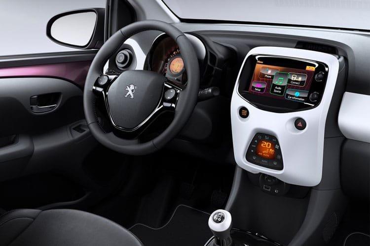 Peugeot 108 top Hatchback 1.0 72 Allure 5dr - 28