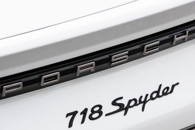 Porsche 718 Spyder 4.0 2dr pdk - 4