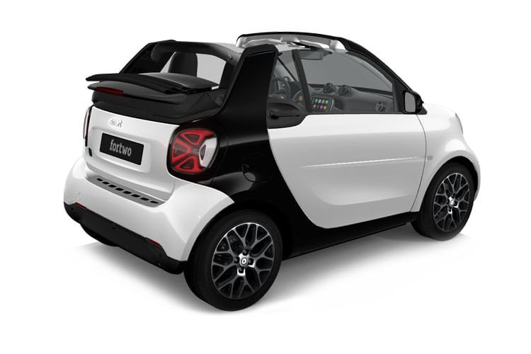 Smart Fortwo Electric Cabrio 60kw eq Prime Exclusive 17kwh 2dr Auto [22kwch] - 30