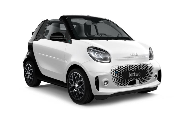 Smart Fortwo Electric Cabrio 60kw eq Prime Exclusive 17kwh 2dr Auto [22kwch] - 25