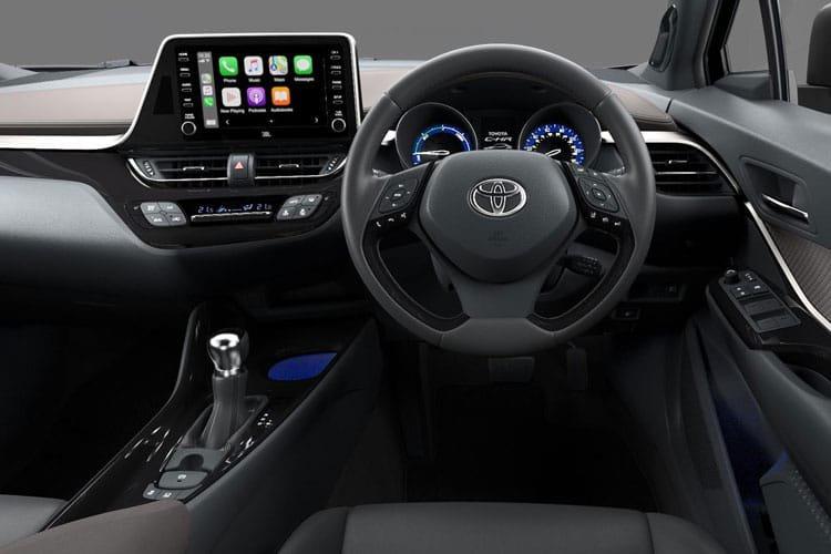 Toyota c hr Hatchback 2.0 Hybrid gr Sport 5dr cvt [leatherjbl] - 28