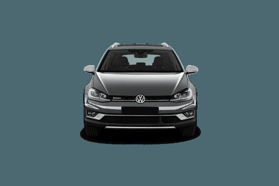 VW Golf Alltrack Diesel Estate 2.0 tdi 184 5dr dsg angle 1